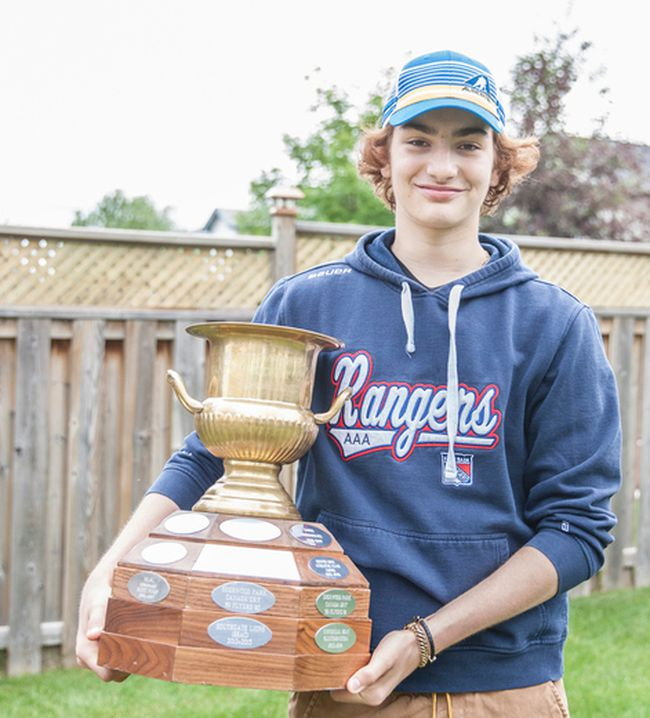 Sebastian Cossa signed a standard player agreement with the Western Hockey League's Edmonton Oil Kings Saturday. Robert Murray/Fort McMurray Today/Postmedia Network
