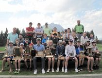Banff Springs Golf Club junior golfers gathered for one last, fun event and distribution of the annual awards this past weekend. (Supplied)