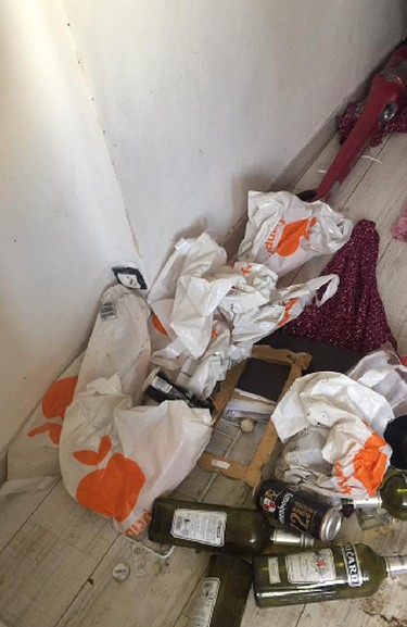 Laurie Synakowski claims a Canadian Airbnb renter trashed her apartment in Paris, France, causing $15,000 in damages. (Facebook)