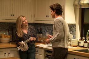 """This image released by eOne shows Reese Witherspoon, left, a scene from """"Home Again."""" (Karen Ballard/eOne via AP)"""