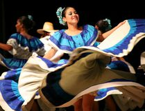 Dancers are set to perform at Festival Place on Sept. 20 as part of a program for homeless youth. Photos Courtesy Ballet Folklorico los Angelitos