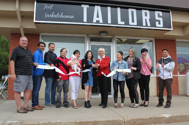 The Fort Saskatchewan Tailors held their grand opening celebrations on Sept. 3. The family business originally started in Edmonton and the Fort will be their third addition.