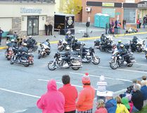 File photo The last time the OPP Golden Helmets performed in Elliot Lake was in 2013.