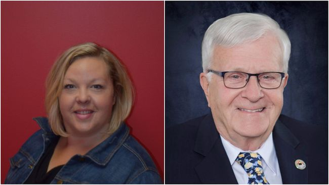 Michelle Thiebaud-Gruhlke and Bill Steinburg have entered their names into the election race as alderman candidates.