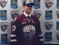St. Thomas's Mark Woolley was drafted in the 2017 OHL Priority Selection to the Guelph Storm. He was drafted in the third round at 54th overall. He recently committed to the team. (Contributed photo)