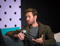 Actor Armie Hammer speaks during a press conference for the film 'Call Me By Your Name' at the Toronto International Film Festival in Toronto on Friday, September 8, 2017. (Chris Donovan/The Canadian Press)