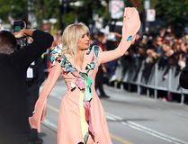Lady Gaga arrives for movie Five Foot Two at the Princess of Wales Theatre during the Toronto International Film Festival in Toronto on Friday September 8, 2017. (Dave Abel/Toronto Sun/Postmedia Network)