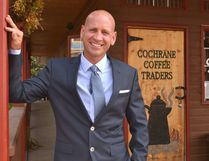 After leaving council in 2007 to raise a family and grow his business, Coffee Traders, Jeff Genung has decided it's time to get back into politics by running against Ivan Brooker and Tom Hardy for mayor.