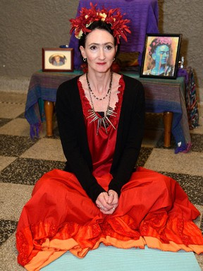 Charlene McNabb plays Frida in the Palace Theatre production of Frida & Diego. (MORRIS LAMONT, The London Free Press)