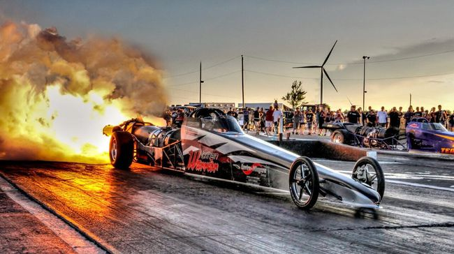 A fundraiser for a LaSalette girl who is battling leukemia will be held Saturday at Modern Auto Parts, near Scotland. The event will feature an appearance by the Northern Warrior, a jet dragster capable of speeds in excess of 300 m.p.h. Dave Erauw photo