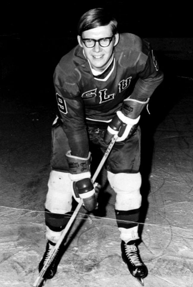 2017 Chatham Sports Hall of Fame inductee Brian Hind played three NCAA hockey seasons at St. Lawrence University from 1968-71. (Contributed Photo)