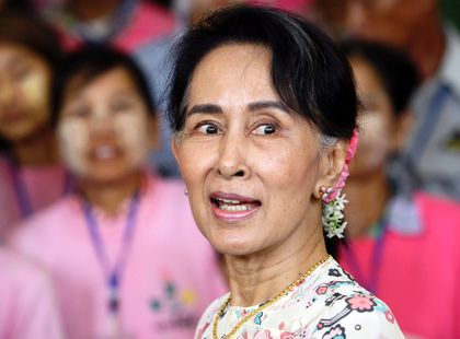 Aung San Suu Kyi FILES Sept. 13/17