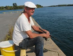 <p>Cornwall's Donald Landriault was having a relaxing time on a beautful Monday afternoon, fishing at Cornwall Harbour on Monday, September 11, 2017. Landriault had caught a smallmouh bass, perch and was looking to hook a pickerel. </p><p> Todd Hambleton/Cornwall Standard-Freeholder/Postmedia Network
