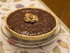 Chocolate Walnut Tart. (DEREK RUTTAN, The London Free Press)