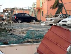 Photos of the devastation on the Island of Saint Martin after hurricane Irma swept through on Sept. 6. A Kingston family was trapped on the island after the hurricane. (Photo courtesy of Ashleigh Whitley)