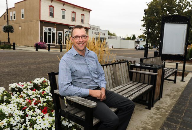 Jamie Hoover will be one of the newcomers looking to grab a seat on Blackfalds town  council in the upcoming municipal election. (Ashli Barrett/Lacombe Globe)