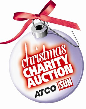It's almost time for the ATCO Edmonton Sun Christmas Charity Auction. (FILE)