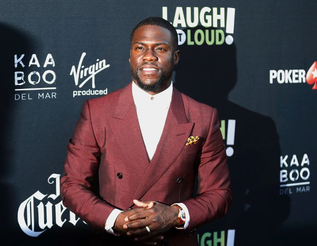 "Comedian Kevin Hart posted a video to Instagram apologizing for his recent ""bad bahaviour."" (Danny Moloshok/Invision/AP/Files)"