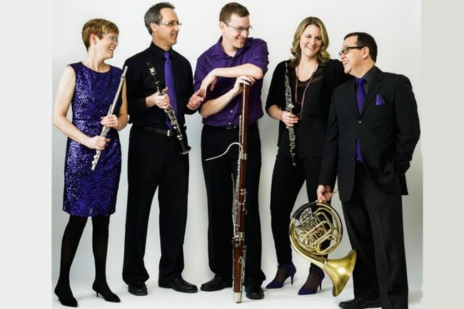 New Brunswick's renowned woodwind quintet, Ventus Machina, will be performing at Sarnia's Imperial Theatre on Wednesday, Oct. 4 to launch the Sarnia Concert Association's 82nd season. Handout/Sarnia This Week
