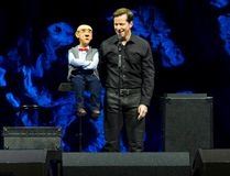 Ventriloquist Jeff Dunham performs with Walter, one of several guests, during his visit to London in 2015. (Free Press file photo)