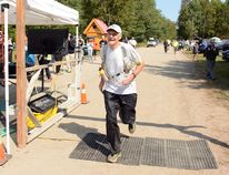 Kingston's Jack Judge completes the 100 mile cross-country race. Submitted photo