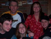 Adam Kargus, bottom left, with his family, sister Paige and brother Shane, front row, and parents Kenny and Deb Abrams. The trial of the man accused of killing Kargus at EMDC in 2013 is set to begin Monday Sept. 25.
