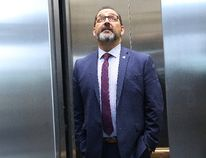 Minister of Energy and Sudbury MPP Glenn Thibeault arrives at court in Sudbury on Tuesday, Sept. 19, 2017 for an Election Act bribery trial involving Greater Sudbury businessman and Liberal fundraiser Gerry Lougheed Jr. and Patricia Sorbara, former deputy chief of staff for Premier Kathleen Wynne. Thibeault is testifying at the trial. (JOHN LAPPA/POSTMEDIA NETWORK)