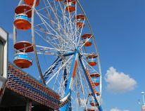 The Stratford and District Agricultural Society's Fall Fair midway is seen here on Wednesday, Sept. 20, 2017 in Stratford, Ont. The four-day event opens Thursday at 4 p.m. (Terry Bridge/Stratford Beacon Herald/Postmedia Network)