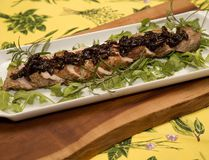 Pork Tenderloin with Caramelized Onions and Balsamic. (DEREK RUTTAN, The London Free Press)
