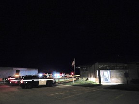 At approximately 9pm this evening, emergency service vehicles headed to the Goderich Airport, in relation to reports of a missing plane.