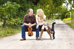 Award-winning Canadian fiddlers Donnell Leahy and Natalie MacMaster are set to perform Sept. 29, 8 p.m., at the Imperial Theatre in downtown Sarnia. The couple's children are expected to be featured in the show. (Handout/The Observer)