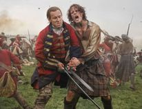 Despite the love the love story, Outlander is also about blood and guts.W