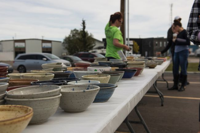 The Empty Bowls Arts Festival 2017 in support of the Airdrie Food Bank is taking place Sept. 23 starting at 11 a.m. at the Airdrie Food Bank Grounds.