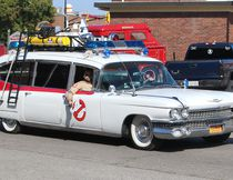 The Ecto-1 ambulance from Ghostbusters was featured during FireFest Chatham-Kent, held in downtown Chatham, Ont. on Saturday September 23, 2017. Ellwood Shreve/Chatham Daily News/Postmedia Network