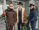 "This file image released by Twentieth Century Fox shows, from left, Taron Egerton, Colin Firth, and Pedro Pascal in ""Kingsman: The Golden Circle."" The R-rated spy comedy ""Kingsman: The Golden Circle"" has taken over the top spot at the North American box office with an estimated $39 million debut. The 20th Century Fox release pushed the Stephen King sensation ""It"" into second place in its third week of release.(Giles Keyte/Twentieth Century Fox via AP, File)"