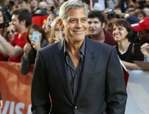 George Clooney attends the Toronto International Film Festival on Sept. 9, 2017. (Regina Wagner/Future Image/WENN.com)