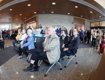 Dozens of people attend the grand opening of the Selkirk Regional Health Centre Sept. 14. (Brook Jones/Selkirk Journal/Postmedia Network)