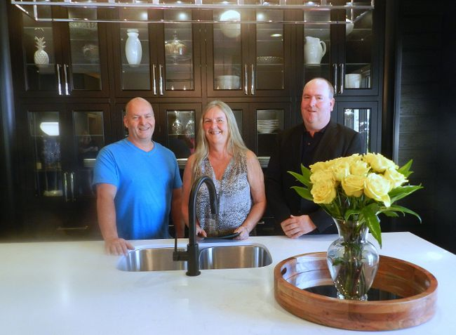 Dan Fentie, Tamara Underhill and Shawn Fentie are the folks behind Woody's Premium Cabinetry which has made the PROFIT 500 list of Canada's fastest growing companies. (HANK DANISZEWSKI, The London Free Press)