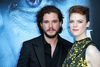 Actors Kit Harington and Rose Leslie attend the premiere of HBO's 'Game Of Thrones' season 7 at Walt Disney Concert Hall on July 12, 2017 in Los Angeles, California. (Photo by Frederick M. Brown/Getty Images)