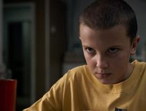 "This image released by Netflix shows Millie Bobby Brown in a scene from ""Stranger Things."" Supernatural pop culture sensation ``Stranger Things'' returns to the Upside Down with a second season Oct. 27 on Netflix. THE CANADIAN PRESS/HO-Netflix via AP"