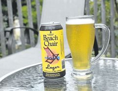 Beach Chair Lager, which delivers a hint of spiciness from its noble hops, is being sold at the Beer Store throughout Ontario. (WAYNE NEWTON, Special to Postmedia News)