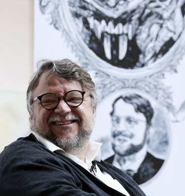 Guillermo Del Toro at his press conference introducing At Home With Monsters at the AGO on Tuesday, September 26, 2017. Stan Behal/Toronto Sun