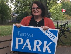 Tanya Park wants to run for the Ontario NDP in London North Centre. (MEGAN STACEY, The London Free Press)