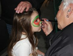 <p>Saturday was the third annual A Season of Pumpkin People on Saturday September 30, 2017 in Morrisburg, Ont. Briah Hart gets her face painted during the event.</p><p> Lois Ann Baker/Cornwall Standard-Freeholder/Postmedia Network