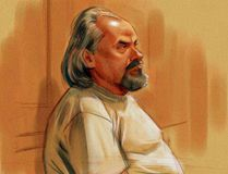 Sketch by Greg Banning: The triple murder trial of Basil Borutski began in Ottawa Oct. 2. The trial was expected to continue into the New Year, but wrapped up much quicker than initially anticipated. The judge will instruct the jury Wednesday.