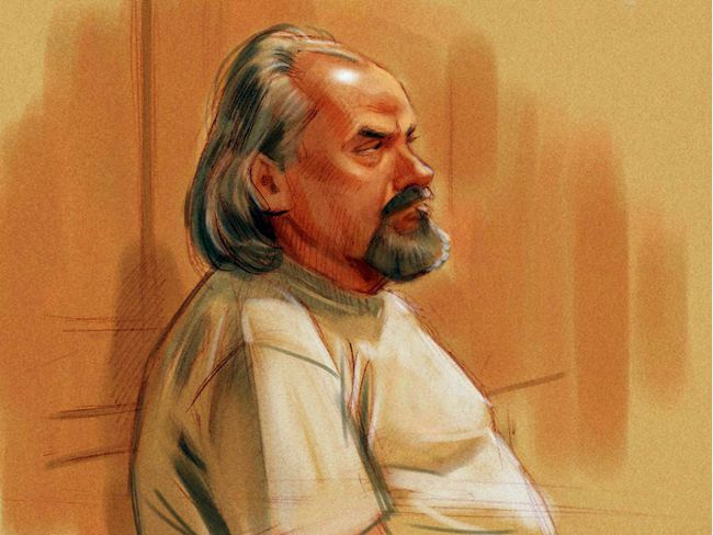 Sketch by Greg Banning: