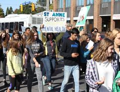 <p>Hundreds of supporters took to the streets to raise awareness at the CMHA Walk for Mental Health on Tuesday October 3, 2017 in Cornwall, Ont.</p><p> Lois Ann Baker/Cornwall Standard-Freeholder/Postmedia Network
