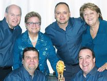 Dianne & The Cavaliers are (back row, left) Robert 'Butch' Trutter, Dianne Ditner, Steve Todd and Elaine (nee Debus) Chalmers, while in front are Michael Cole and Kent McVeigh. SUBMITTED
