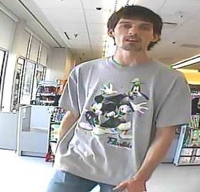 Chatham-Kent police are seeking the public's help in identifying this man wanted in connection to $350 worth of items stolen from Shoppers Drug Mart on Queen Street in Chatham. (Handout)