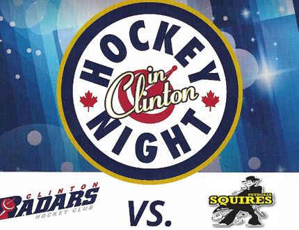 Clinton Radars will face off against Petrolia Squires this Friday in their 2017-18 season opener.